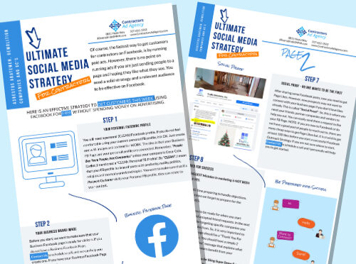 Image of the social media strategy pdf